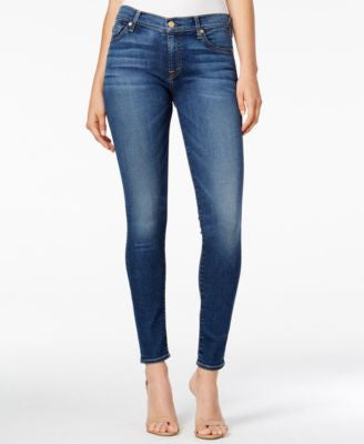 7 For All Mankind The Skinny Medium Melrose Wash Jeans