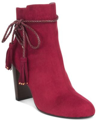 Thalia Sodi Palomaa Rope-Tie Booties, Only at Vogily
