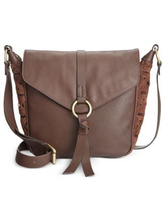 Nanette Lepore Aspen III Flap Crossbody Saddle Bag