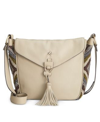 Nanette Lepore Aspen I Flap Saddle Bag