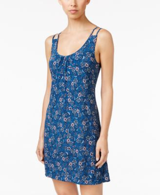 Alfani Double-Strap Printed Chemise, Only at Vogily
