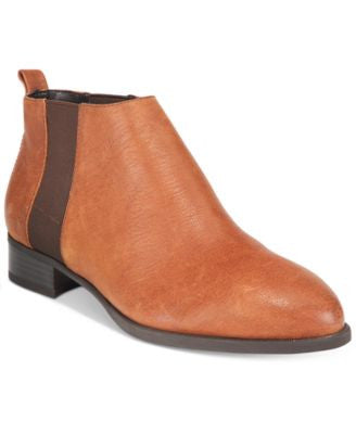 Nine West Nolynn Block-Heel Pointed-Toe Booties