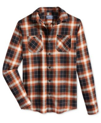 American Rag Chilly Plaid Flannel Shirt