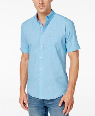 Tommy Hilfiger Men's Sumerlin Gingham Short-Sleeve Shirt