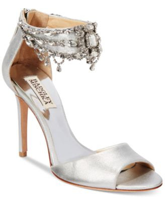 Badgley Mischka Denise II Ankle-Strap Sandals