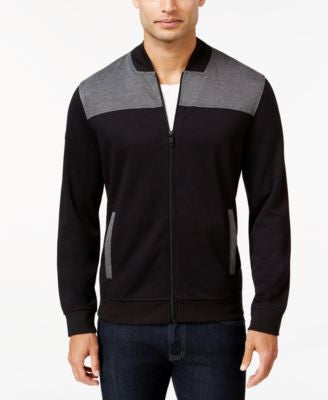 Alfani Men's Colorblocked Full-Zip Jacket, Only at Vogily