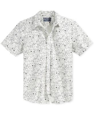American Rag Men's Twigs Graphic-Print Short-Sleeve Shirt, Only at Vogily