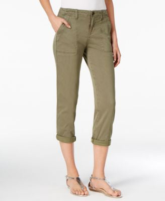 Calvin Klein Jeans Utility Cropped Pants