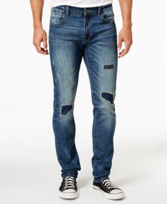 Ring of Fire Men's Slim-Fit Elan Hudson Wash Jeans