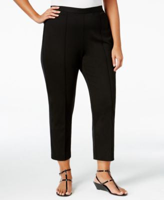 Alfred Dunner Plus Size Madison Park Collection Pull-On Cropped Pants