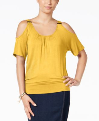 Thalia Sodi Cold-Shoulder Top, Only at Vogily