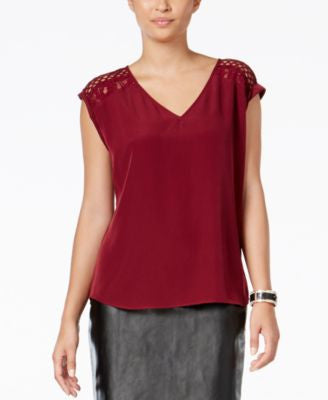 Thali Sodi Lace-Trim Top, Only at Vogily