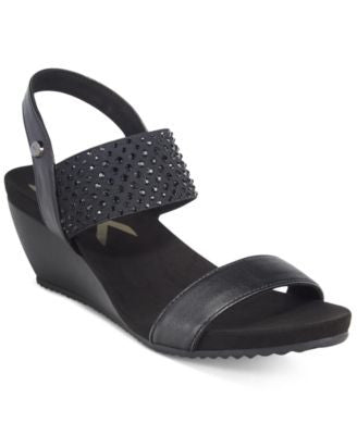 Anne Klein Castie Wedge Sandals