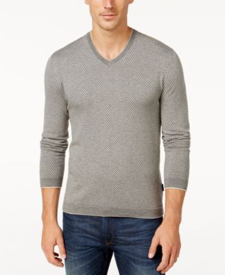 Michael Kors Men's Greystone V-Neck Sweater