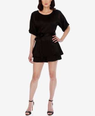 Lucky Brand Elbow-Sleeve Romper