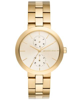 Michael Kors Women's Garner Gold-Tone Stainless Steel Bracelet Watch 39mm MK6408
