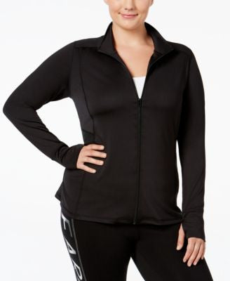 Material Girl Plus Size Active Jacket, Only at Vogily