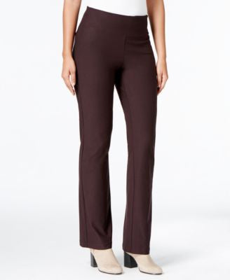 Eileen Fisher Petite Pull-On Bootcut Pants