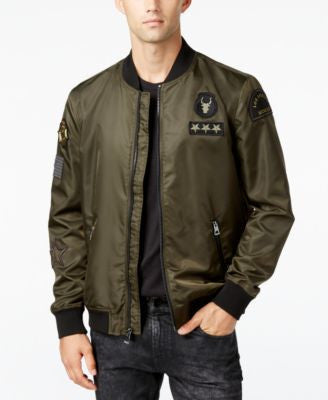 GUESS Men's Exo Lightweight Bomber, a Vogily Exclusive Style