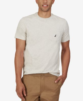 Nautica Men's Logo Pocket T-Shirt