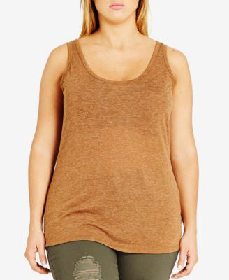 City Chic Plus Size Tank Top