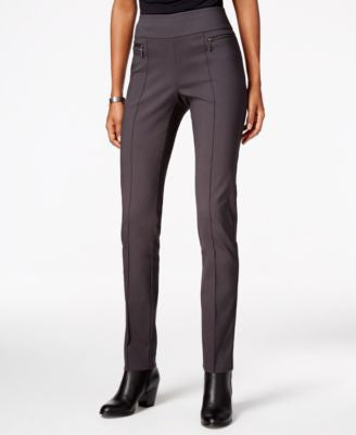 Style & Co. Petite Straight-Leg Pull-On Trousers, Only at Vogily