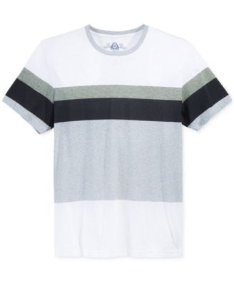 American Rag Men's Variegated Stripe T-Shirt, Only at Vogily