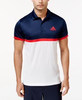 adidas Men's ClimaLite Tennis Polo Shirt