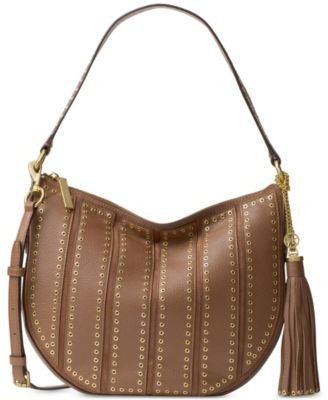 MICHAEL Michael Kors Brooklyn Grommet Appliqué Medium Convertible Hobo