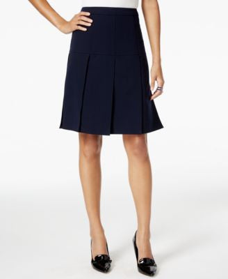 Tommy Hilfiger Drop-Pleat A-Line Skirt