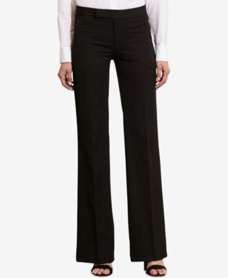 Lauren Ralph Lauren Petite Stretch Twill Flared Pants