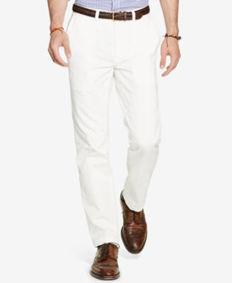 Polo Ralph Lauren Men's Classic-Fit Flat-Front Chino Pants