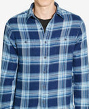 Polo Ralph Lauren Men's Indigo Plaid Workshirt