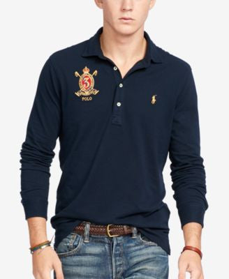 Polo Ralph Lauren Men's Long-Sleeve Hampton Shirt
