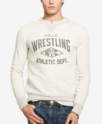 Polo Ralph Lauren Men's Graphic-Print Fleece Sweatshirt