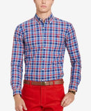 Polo Ralph Lauren Men's Relaxed-Fit Checked Poplin Shirt