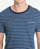 Polo Ralph Lauren Men's Striped Indigo T-Shirt