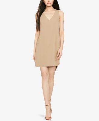 Polo Ralph Lauren Silk-Trim Sleeveless Dress