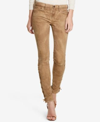 Polo Ralph Lauren Tompkins Lace-Up Skinny Jeans