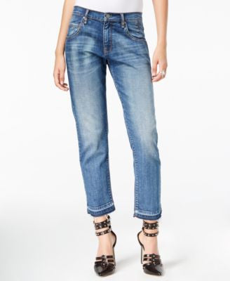 William Rast Tomboy Vintage Wash Straight-Leg Jeans