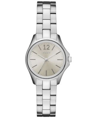 DKNY Women's Casual Case Stainless Steel Bracelet Watch 30mm NY2522