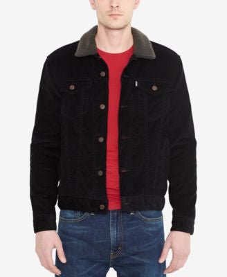 Levi's® Denim Jacket with Faux Sherpa Lining