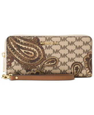 MICHAEL Michael Kors Studio Paisley Jet Set Travel Continental Wallet
