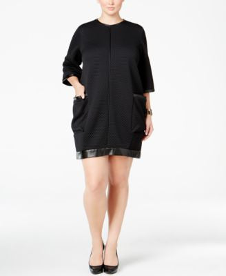 Melissa McCarthy Seven7 Plus Size Cocoon Shift Dress