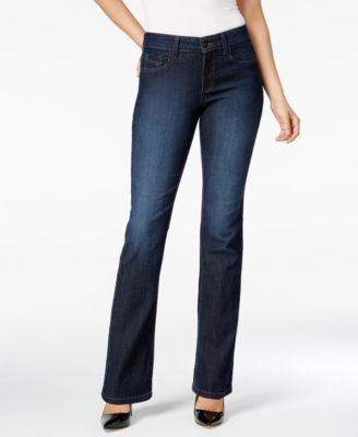 NYDJ Marilyn Burbank Wash Straight-Leg Jeans