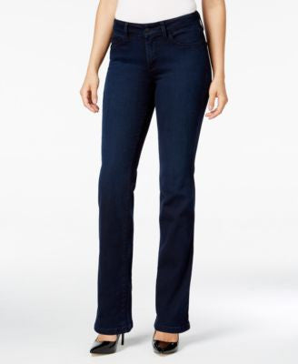 NYDJ Marilyn Paris Nights Wash Straight-Leg Jeans