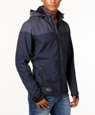Point Zero Men's Dewspo Fleece-Lined Wind and Water Resistant Jacket
