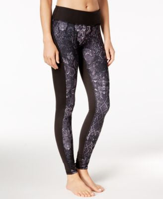 Gaiam Printed Luxe Yoga Leggings