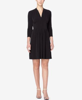 Catherine Catherine Malandrino Tinka Pleated Fit & Flare Dress