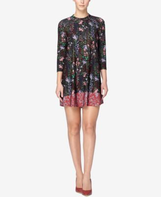 Catherine Catherine Malandrino Hayden Printed Shift Dress